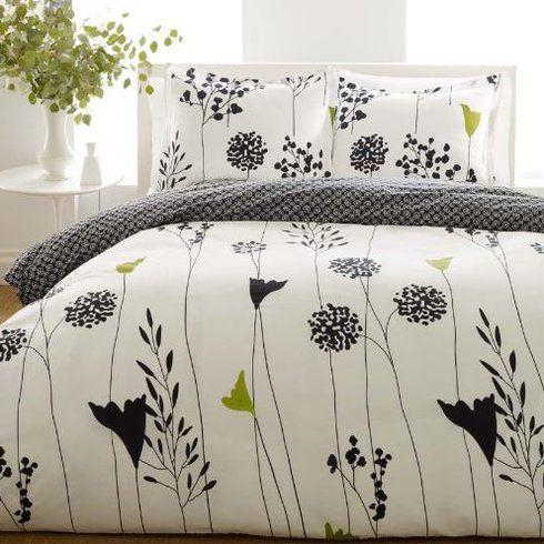 Asian Lily Reversible Duvet Cover Set