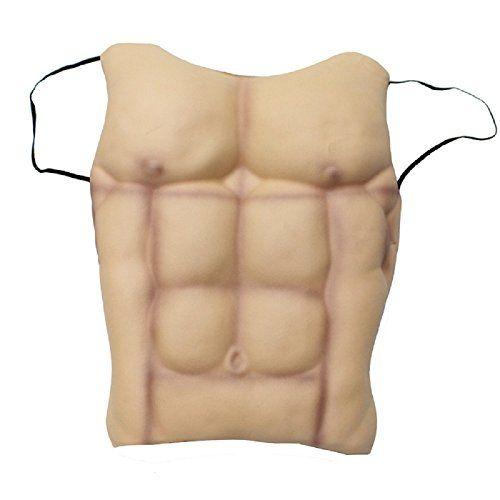 Fake Muscle Chest Skin Eva Foam Costume Accessory Hallowe...