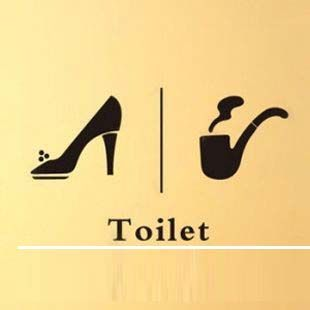 Restaurant Bathroom Signs 200 best restaurant bathrooms images on pinterest | bathroom signs