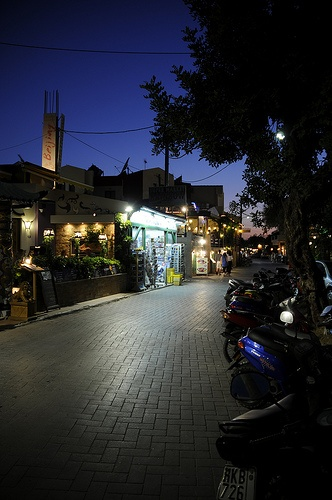koutouloufari in crete,wonderful town at night and during the day :)