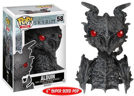 """Elder Scrolls: Skyrim - Alduin 6"""" Pop! Vinyl Figure"""