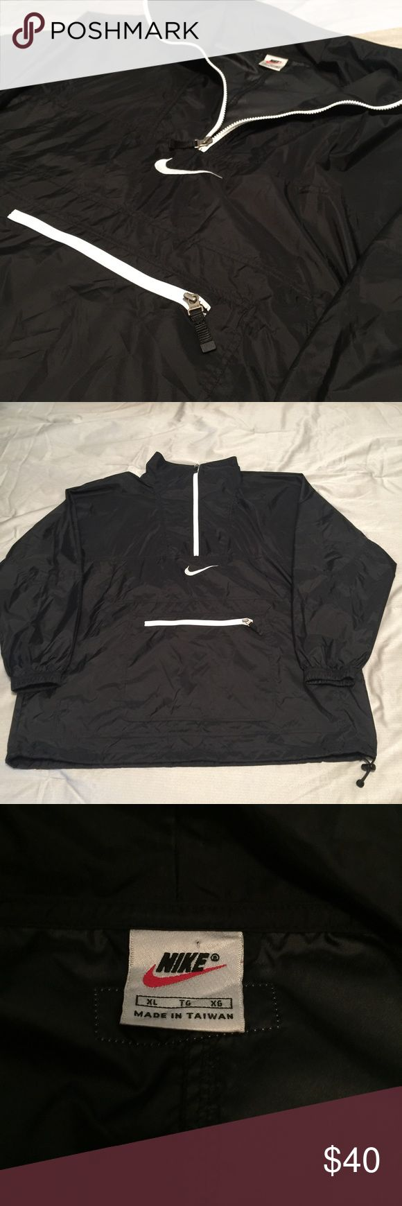 Vintage Nike Windbreaker An awesome black/white Vintage Nike Windbreaker. Nike Jackets & Coats Windbreakers