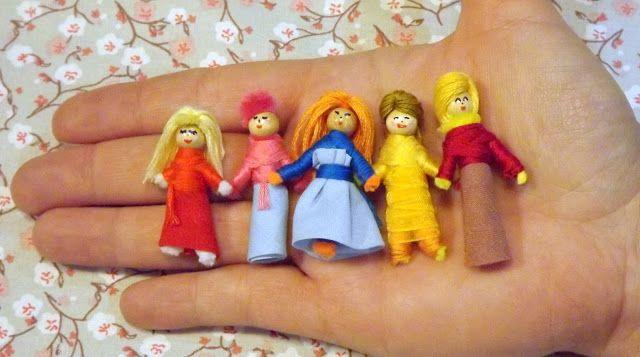 Les poupées tracas / Fée au Marais