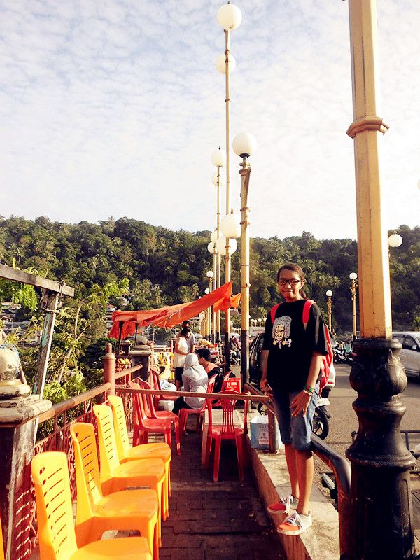 Thanks GOD for today.. Jembatan Siti Nurbaya di Padang, Sumatera Barat
