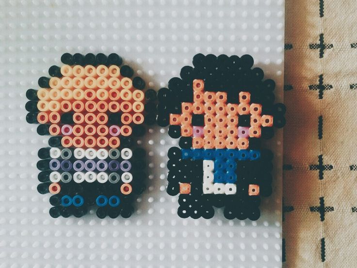 'Sherlock' Perler beads -by Little mi