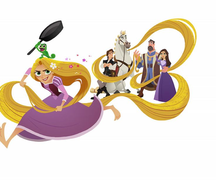 7 Thoughts We Had While Watching the New Tangled: Before Ever After Trailer  Me: it looks really fun!