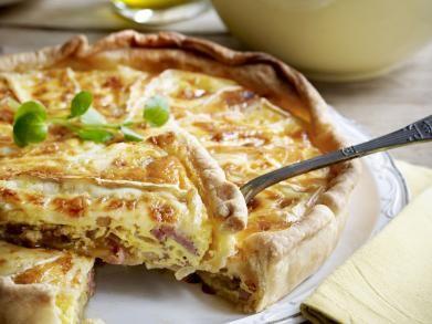 Quiche met brie en witloofslaatje (Libelle Lekker!) Zelf al meerdere keren klaargemaakt, gegeten en succes mee gehad!
