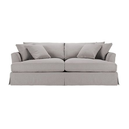 View The Emory Slipcovered Grand Sofa From Arhaus This