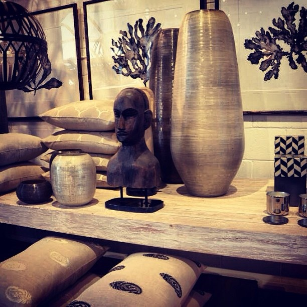 Add a masculine feel with neutrals and dark colours, mixed with metallics and interesting textures. All stock available now www.boydblue.com #homedecor #boydblue #interiordesign #interiors