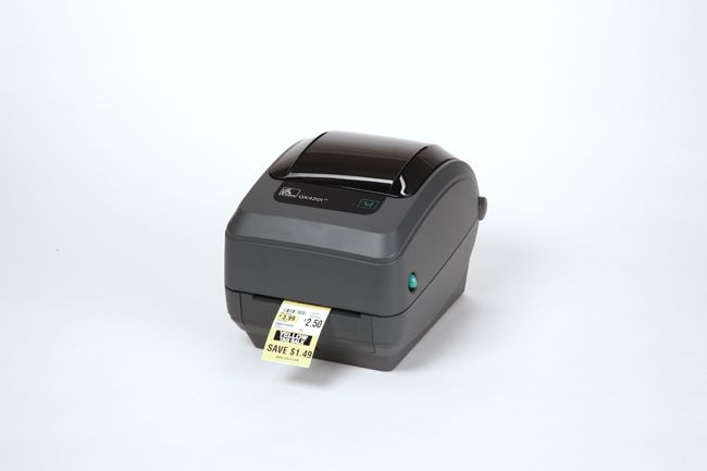 ZEBRA GK420T TT PRINTER (U/S/P), BASIC @Spec Systems - Durban 104mm wide Direct Thermal and Thermal Transfer Printer for Table Top Receipt, Label, Tag and Wristband printing