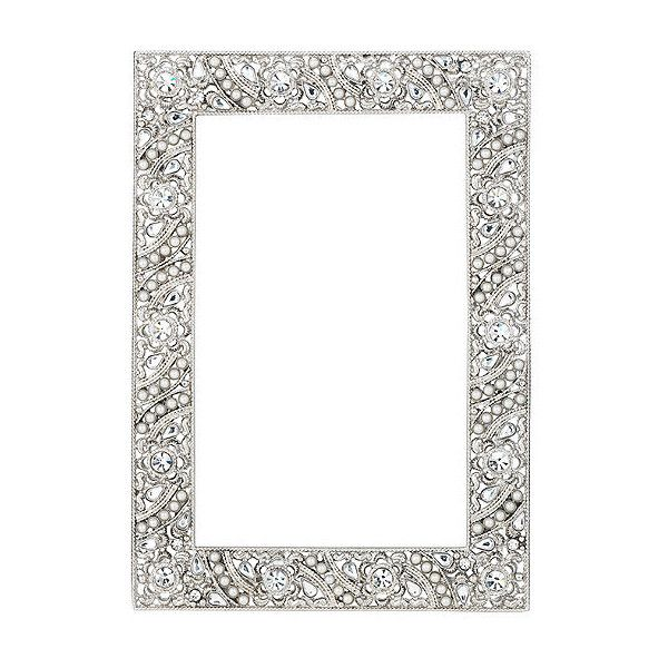 "Eloise Picture Frame - 4"" X 6"" ($110) ❤ liked on Polyvore featuring home, home decor, frames, backgrounds, borders, picture frame, frontgate, wedding frames, ornate picture frames and ornate frames"