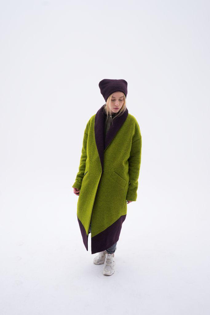 Теплое пальто из валяной шерсти SEFER http://sefer.clothing/product/wool-coat/