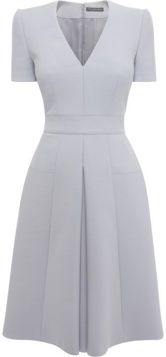 Alexander McQueen Box Pleat Dress