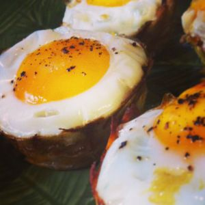 Delicious Sweet Potato & Spinach Egg Cups make for a fabulous Paleo Brunch #paleo #whole30