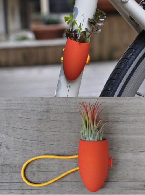 Red Bike Planter From Colleeen Jordan