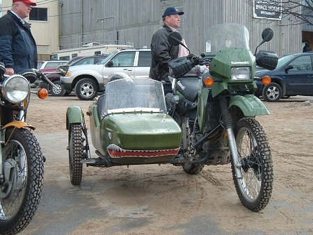 Dual Sport Bikes With Sidecars dual sport dirt bike with a