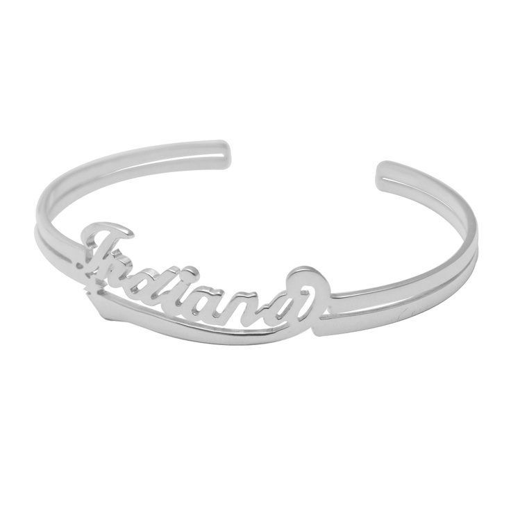 Customised Letter Bangle