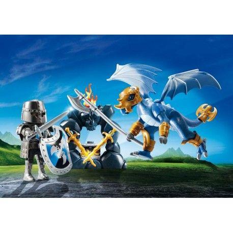 Piątek, piąteczek, Piątunio:)     Szkoda, że tylko raz w tygodniu:)    Z zestawem Playmobil 5657 możemy opowiedzieć legendę o dzielnym rycerzu, który walczył z groźnym, niebieskim smokiem, aby uratować księżniczkę uwięzioną w wieży.     Walka przyniosła wieczną chwałę oraz bogactwo dzielnemu rycerzowi...  Miłego Weekendu:)    http://www.niczchin.pl/playmobil-zamek-i-smok/3697-playmobil-5657-przenosna-walizka-rycerz-i-smok.html    #playmobil #rycerze #smoki #zabawki #niczchin #kraków