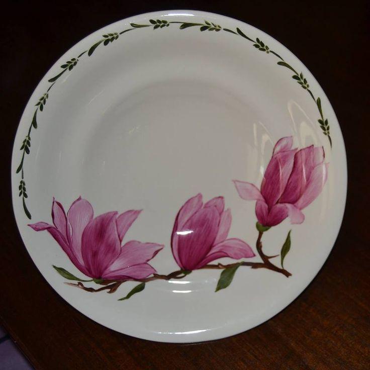 centro tavola magnolia / problème de proportion?