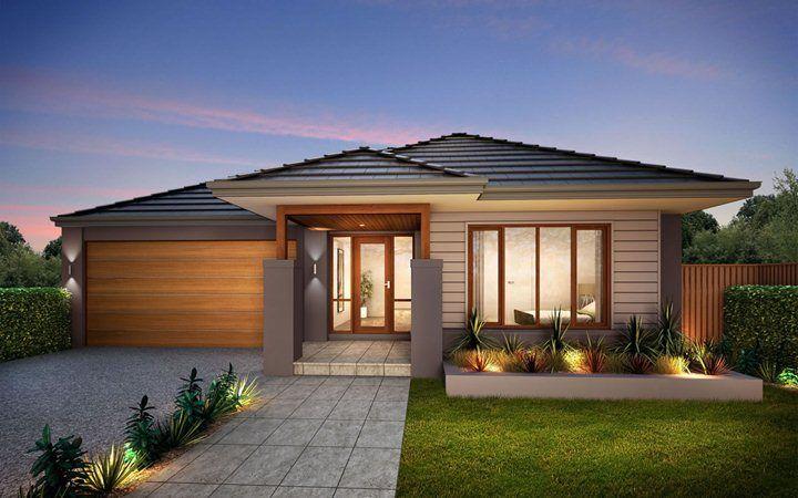 Metricon home designs the ashmore coastal facade visit for Metricon new home designs