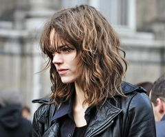 Freja: out of bed hair