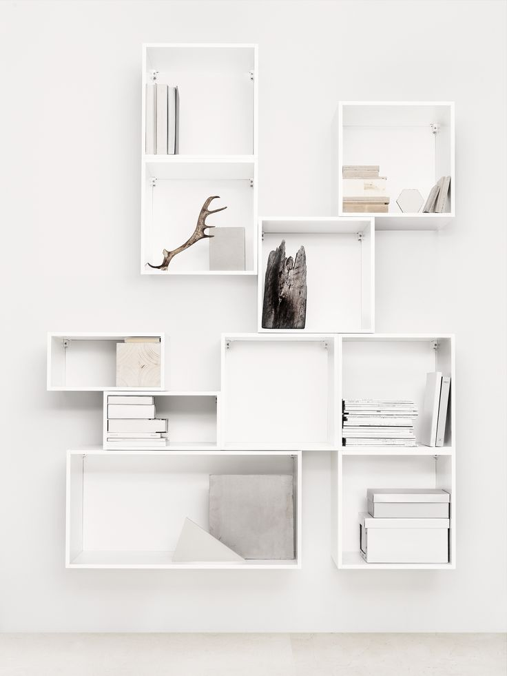 Easy Interior Update: Box Storage. White ShelvesIkea ...