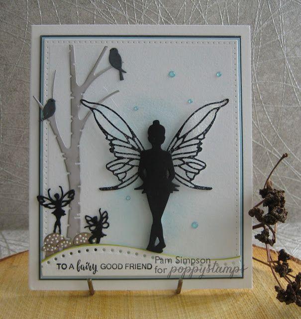 pamscrafts: Princess Faerie Silhouette.