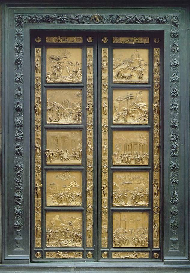Ghiberti\u0027s second commission resulted in the famous doors which are known as \ The Gates of & 12 best Famous Doors images on Pinterest | Windows Doors and Doorway