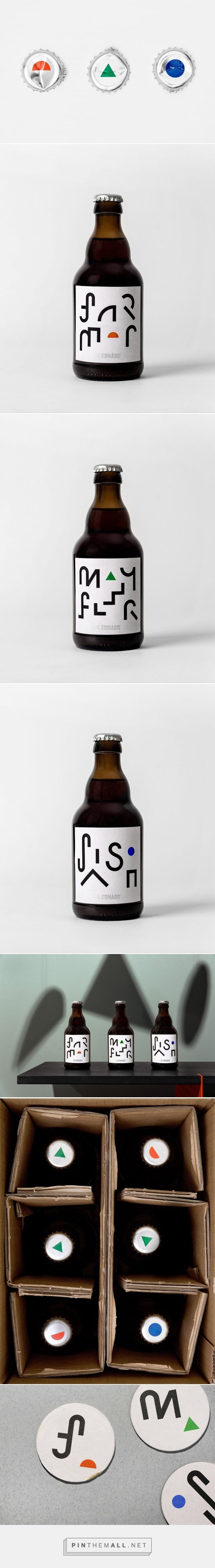 St Erhard beer packaging design by Bedow - http://www.packagingoftheworld.com/2018/02/st-erhard.html
