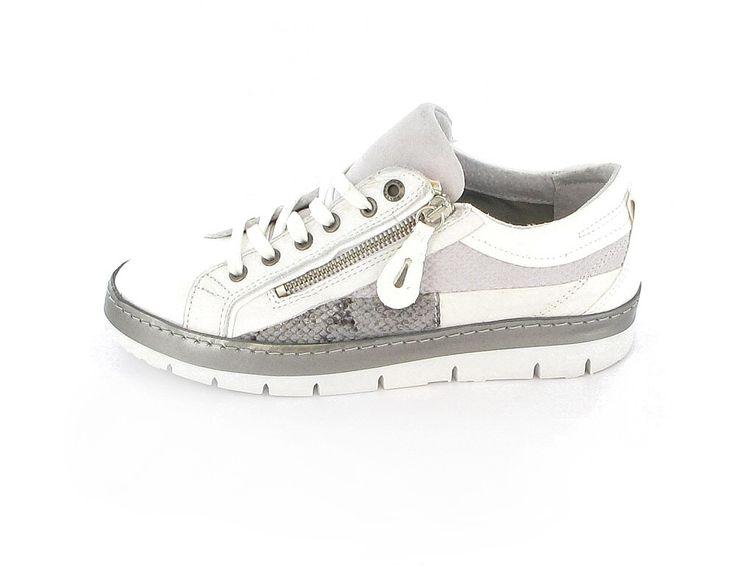 Bullboxer - Trendiger  Damen Sneaker in weiß