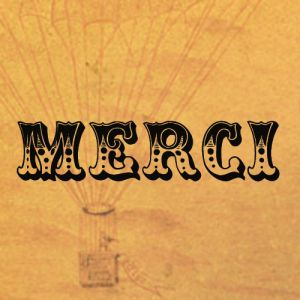 "merci 2 Merci   [mer-see] A cousin of the English word mercy, this French word for ""thank you"" is often paired with beaucoup for emphasis, as in merci beaucoup. Another common French variation is mille fois merci, which translates literally to ""a thousand times thanks"" and is akin to the English phrase ""thanks a million."""