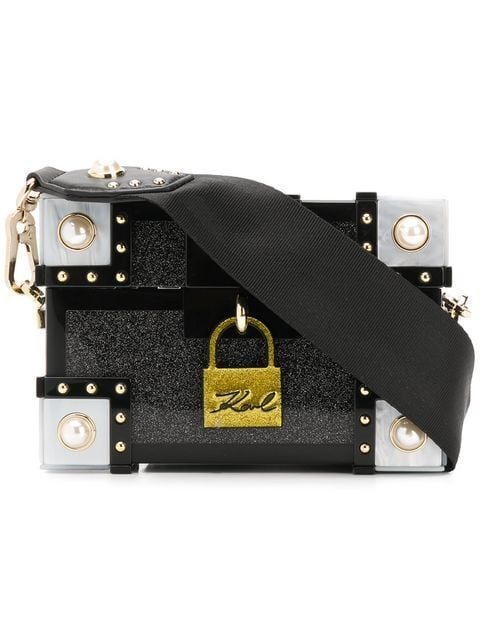 af0d8a7f9 Karl Lagerfeld Treasure Box bag | Edgy Bags in 2019 | Karl lagerfeld ...
