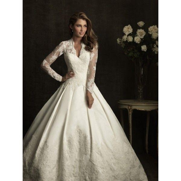 allure long sleeve wedding dresses star bridal apparel