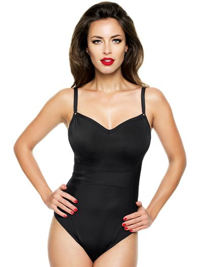 The Panache Isobel Underwire One Piece Swimsuit is every bit as classy as you are!