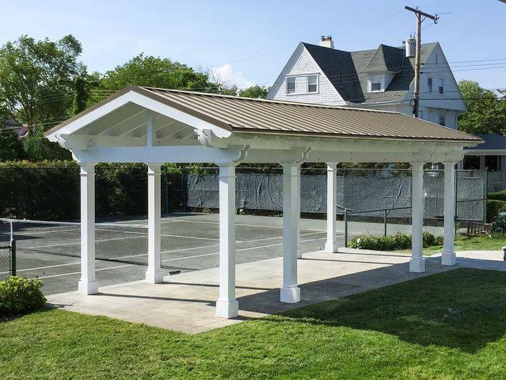 83 best images about garden gazebos pavilions on for Cedar pavilion plans