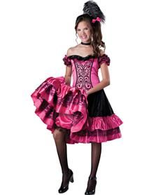can can girls costume spirit halloween - Can Can Dancer Halloween Costume