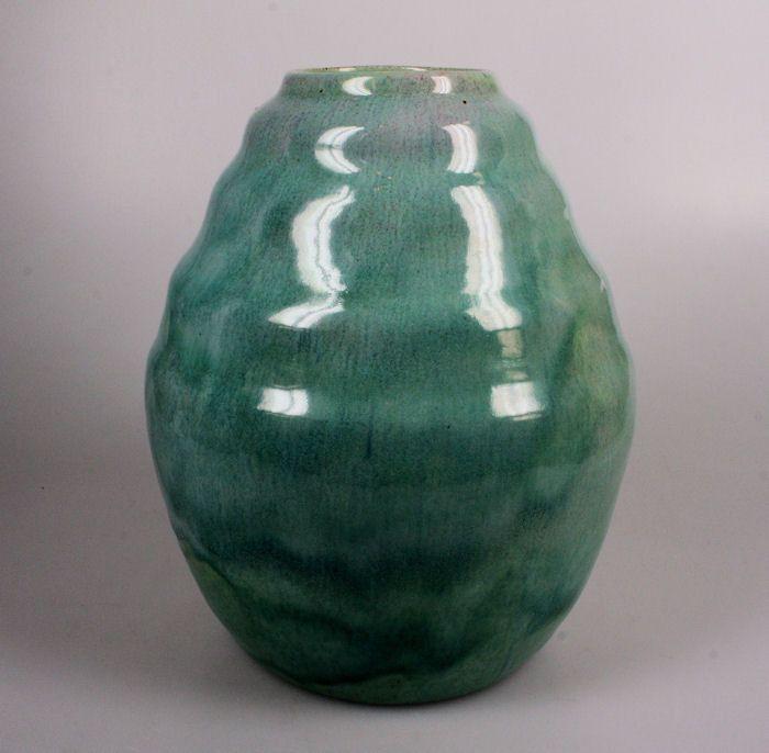 W.C. Brouwer blauwe vaas - Keramiek- en glasveiling - Keramiek en glas veilen of kopen op de Catawiki veiling
