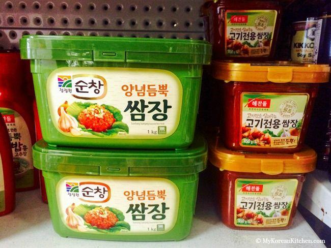 Essential Korean Cooking Ingredients: Korean Spicy Dipping Sauce (Ssamjang) | MyKoreanKitchen.com