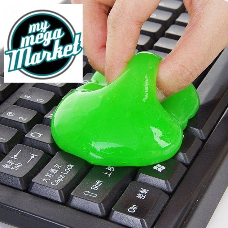 Keyboard Cleaning Tool Magic Gel Innovative Super Dust Cleaner High Tech Cleanin