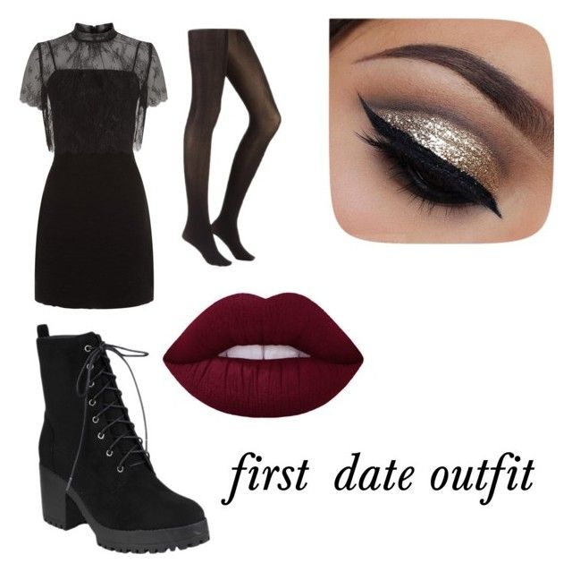 """""""first date outfit"""" by leamendes on Polyvore featuring mode et Sandro"""