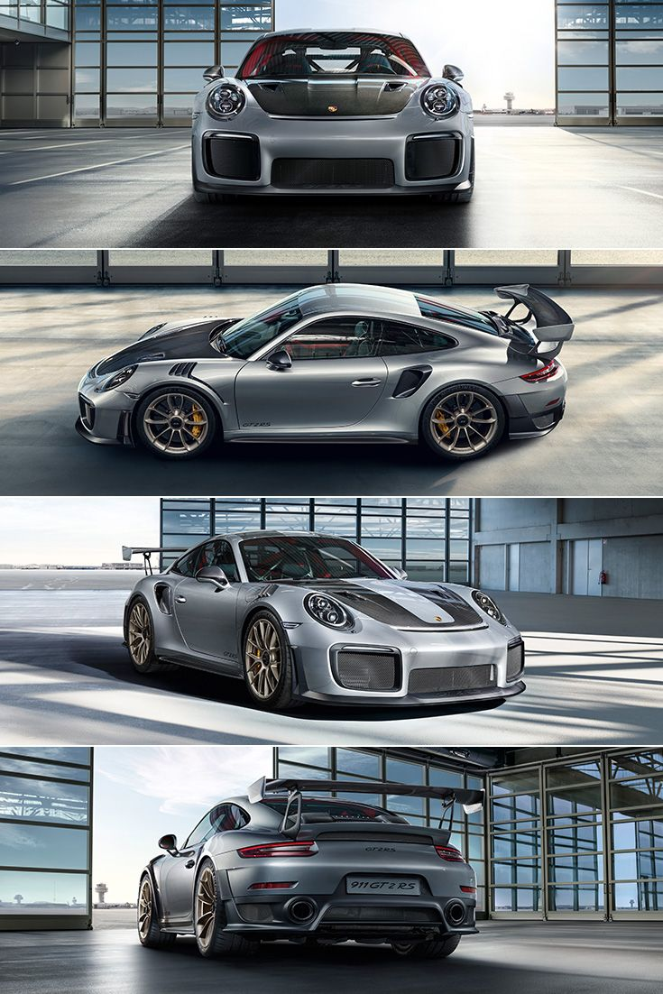 The design of the new 911 GT2 RS must therefore reconcile diametrically opposed requirements: top speed (low drag coefficient) on the one hand and race-optimised aerodynamics (maximum downforce) on the other. No easy task? Our engineers love reaching new heights, especially when things get tricky.  Fuel consumption in l/100 km (mpg)*combined: 11.8 (23.9 mpg); CO2 emissions combined: 269 g/km.