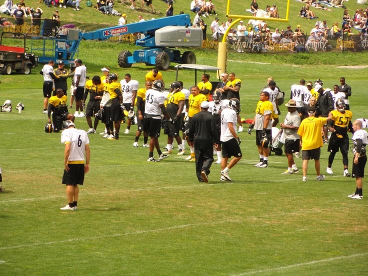 Steelers Training Camp 2012