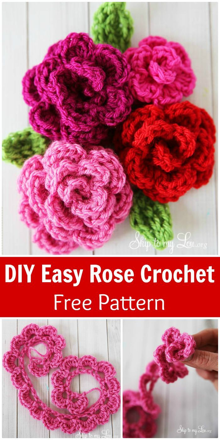 2082 best crochet flowersleaves images on pinterest knitting crochet flowers 90 free crochet flower patterns bankloansurffo Gallery
