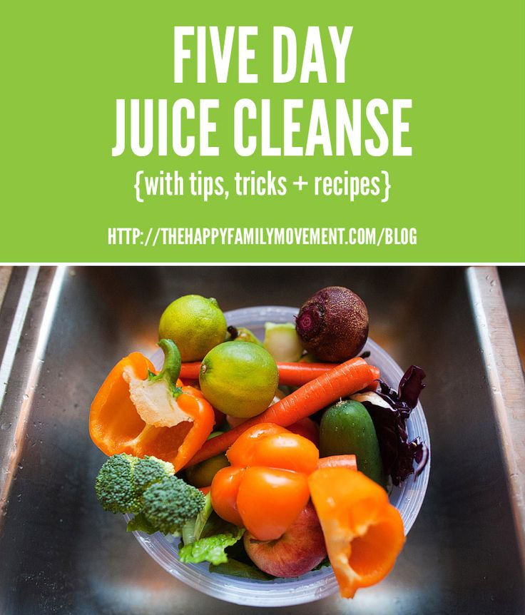 This juice cleanse seems doable. Wonder if I can borrow a juicer or if a blender would work.
