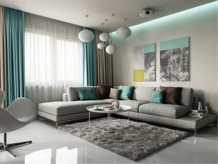30 Amazing Curtains Design For Your Living Room Living Room Turquoise Turquoise Living Room Decor Living Room Grey