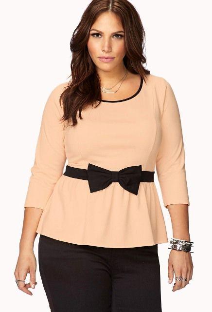 Moda para chicas plus size Forever21