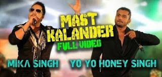 Mast Kalander - Mika Singh, Yo Yo Honey Singh - mp4 Video Download
