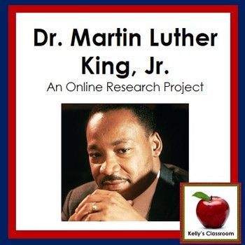 Who was Dr. Martin Luther King, Jr.? What did he believe in? What was his famous speech about?  Help your students discover the answers to these questions and more by using this online research project to introduce several skill sets to the students.