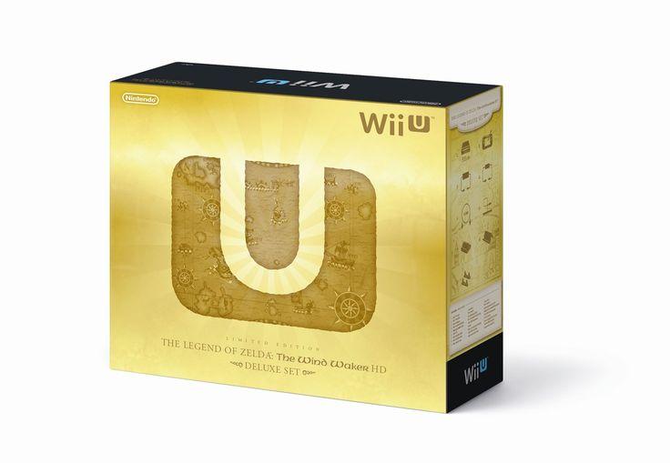 Edição de Colecionador - Todas as edições de Zelda - Collector's Edition Limited Design - wii u wind waker