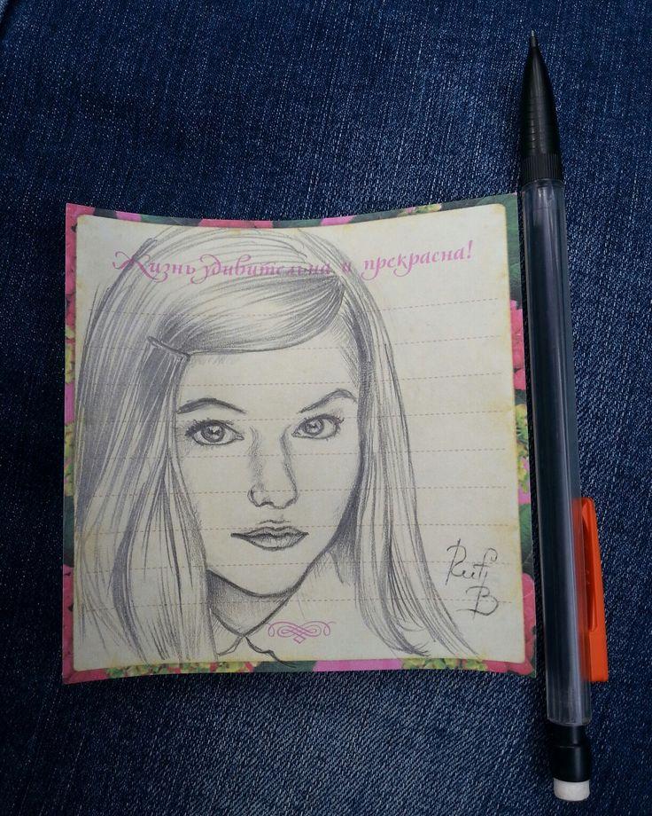Mackenzie Foy  Art рисунок drawing Маккензи Фой